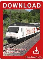 Gotthard Panorama Express english