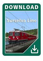 Surselva Line: Reichenau-Tamins - Disentis/Mustér