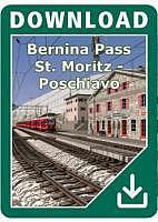 Bernina Pass:  St. Moritz - Poschiavo