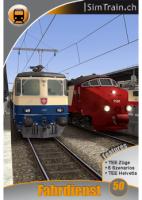 Fahrdienst 50 TEE-Züge nach Zürich